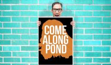 Doctor Who come along pond Matt Smith Art - Wall Art Print Poster   - Kids Children Bedroom Geekery